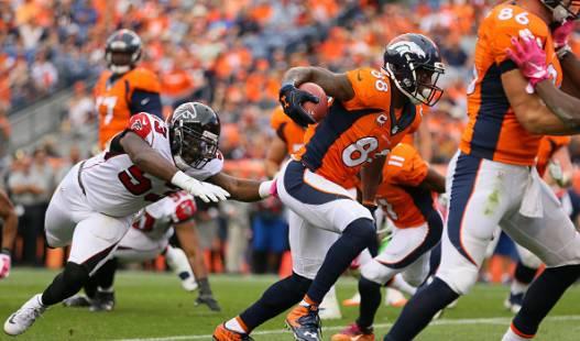 Denver Broncos  7 John Elway Orange Player Winning Method Pullover NFL  Hoodie 2383e96fd