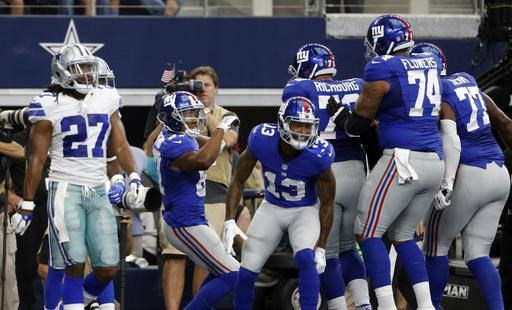 Image result for Sterling Shepard dance with odell