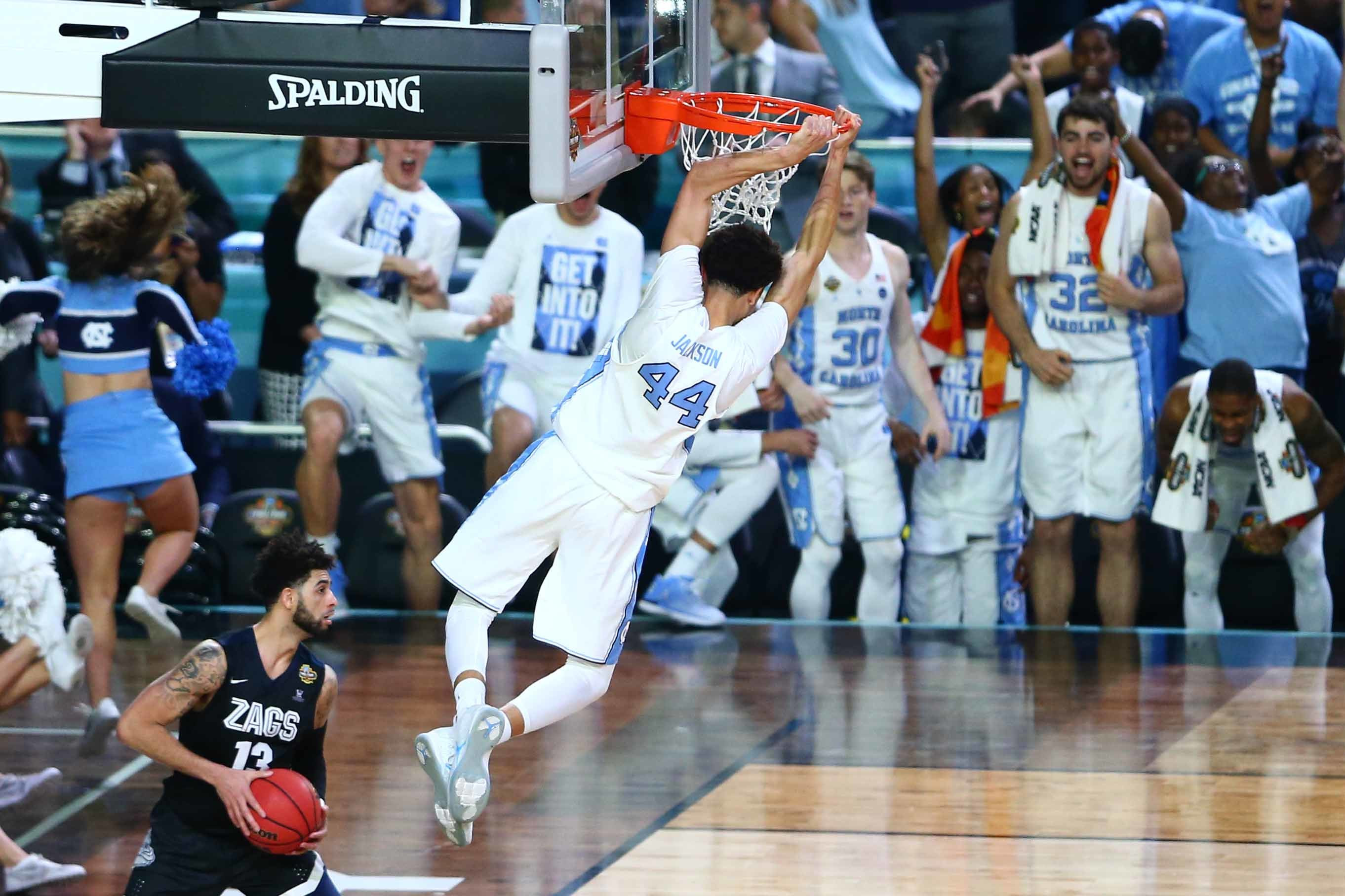 Highlights from the national championship gonzaga vs north carolina - Unc Holds Off Gonzaga 71 65 To Win 6th Ncaa Championship Bleacher Report