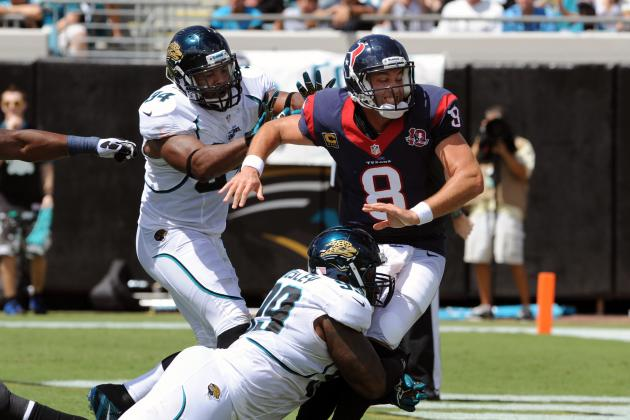 Jaguars Pushing to Produce Pressure on QBs