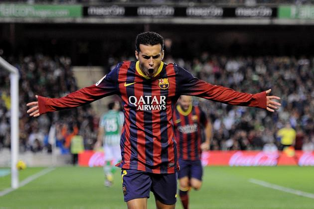 Liverpool Transfer Rumours: Pedro Signing Would Prove Ambition to Luis Suarez