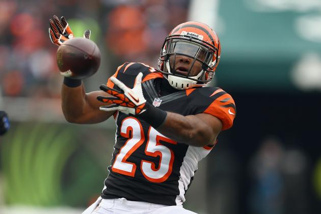 Bengals' Running Back Giovani Bernard Keeps Opponents off-Balance