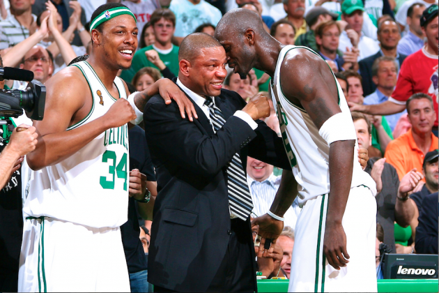 Separated from Kevin Garnett and Paul Pierce, Doc Rivers Extols Former Celtics