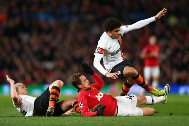 Manchester United vs. Shakhtar Donetsk: Live Player Ratings for United