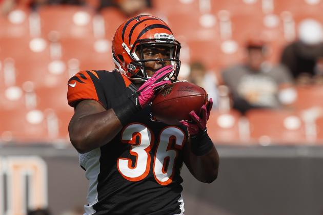 Bengals Waive Fullback Chris Pressley