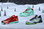 Nike Unveils LeBron, Kobe, & KD's X-Mas Shoes