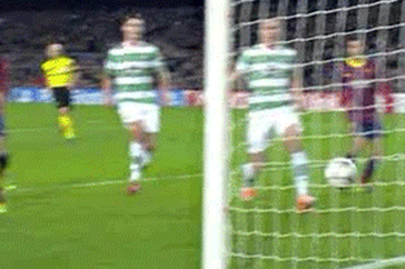 GIF: Neymar Hat-Trick for Barcelona vs. Celtic