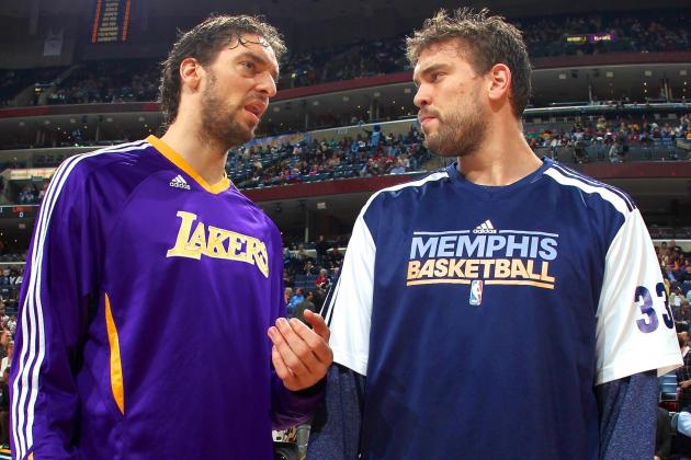 Pau Gasol Says Return to Memphis Grizzlies After This Season Is 'Appealing'