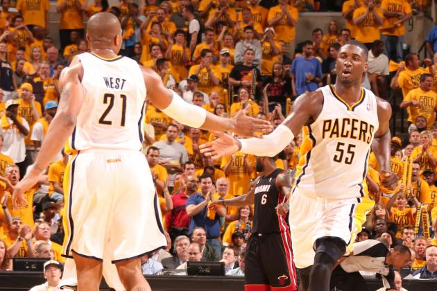 Why Roy Hibbert and David West Work so Well Together for Indiana Pacers