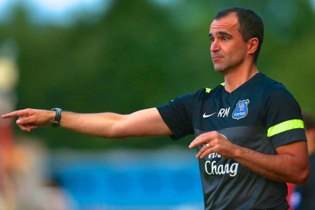 Roberto Martinez's Everton Have Eschewed Tactical Symmetry and Boosted Variety