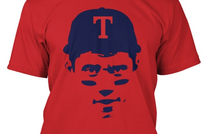 Someone Has Already Created a Russell Wilson Texas Rangers T-Shirt