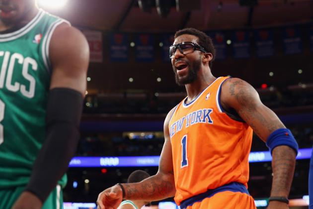 New York Knicks Have Nothing to Lose by Increasing Amar'e Stoudemire's Role