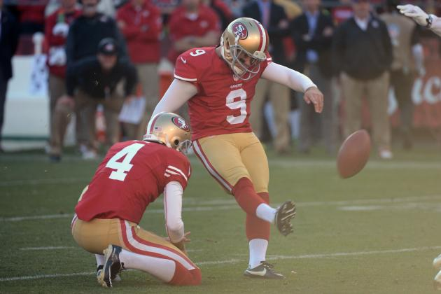 San Francisco 49ers Offense Must Keep Phil Dawson on the Bench