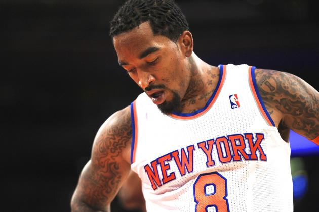 J.R. Smith's Downfall Coincides with the New York Knicks' Struggles