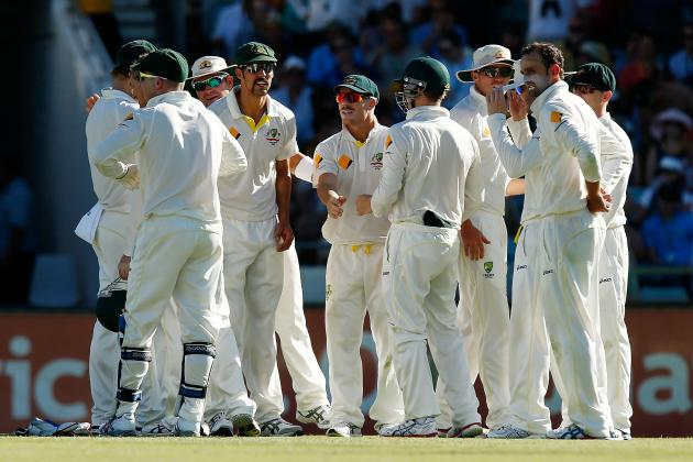 Australia vs. England Ashes 2013: Day 2 Scorecard, Report from 3rd Test at Perth
