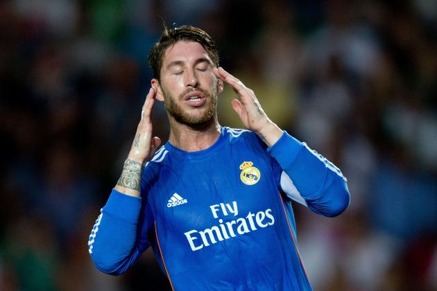 Sergio Ramos Red Card: How Real Madrid Will Cope in Star's Absence