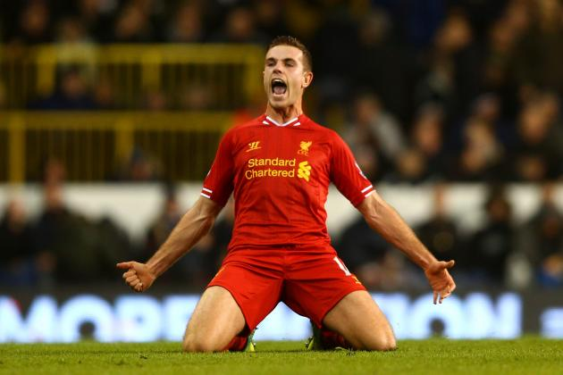 Tottenham 0 Liverpool 5: Henderson and Sterling Inspire Rampant Reds