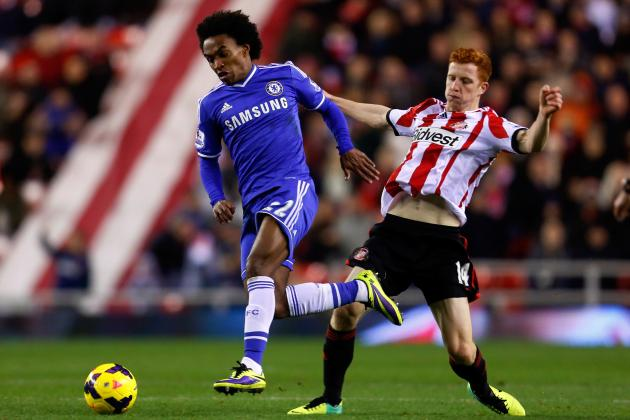 Sunderland vs. Chelsea: Capital One Cup Odds, Preview and Prediction