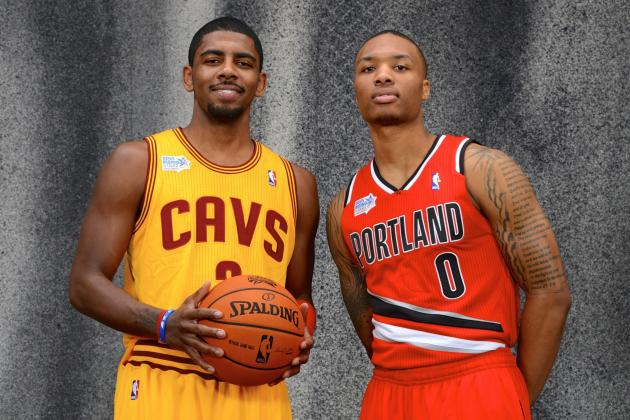 Kyrie Irving and Damian Lillard Headed in Very Different Directions