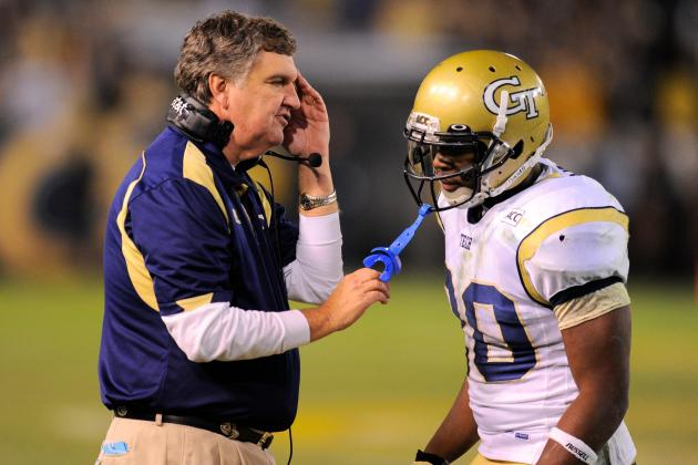 Is Coach Paul Johnson out at Tech?
