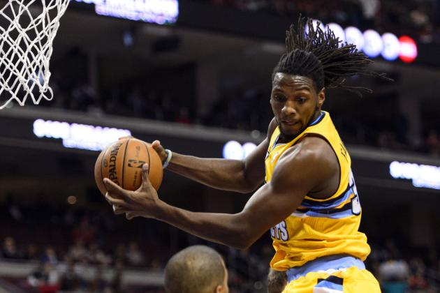 Nuggets' Kenneth Faried Caps Fast Break with Vicious Slam Against Thunder