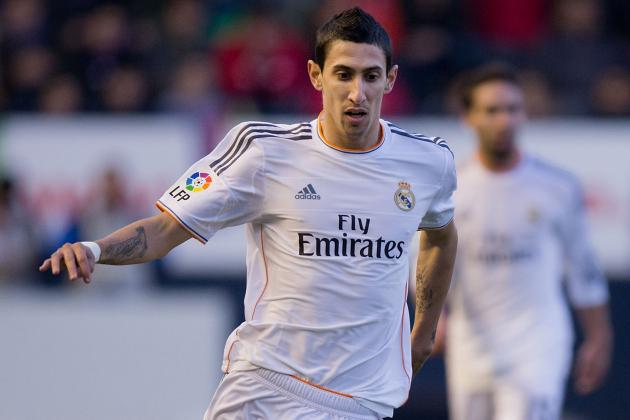 Manchester United Transfer News: Real Madrid Awaiting Angel Di Maria Offer