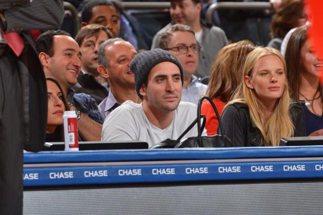 Matt Harvey Isn't Allowed Any Fun at a Knicks Game According to Irate WFAN Host