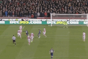 GIF: Ashley Young Fires Home a Thunderbolt for Manchester United vs. Stoke