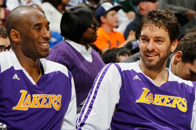 How Kobe Bryant's Injury Impacts Pau Gasol's Los Angeles Lakers Future
