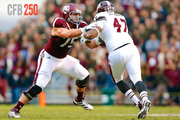 B/R CFB 250: Top 12 Offensive Tackles in College Football
