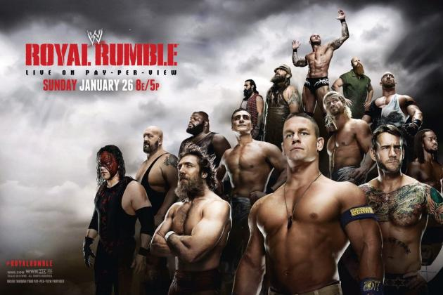 WWE Royal Rumble 2014: Power Ranking Likely Rumble Winners After Dec. 16 Raw
