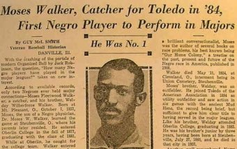 Moses Fleetwood Walker The Forgotten Man Who Actually