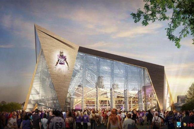 Vikings Reveal New Stadium Design