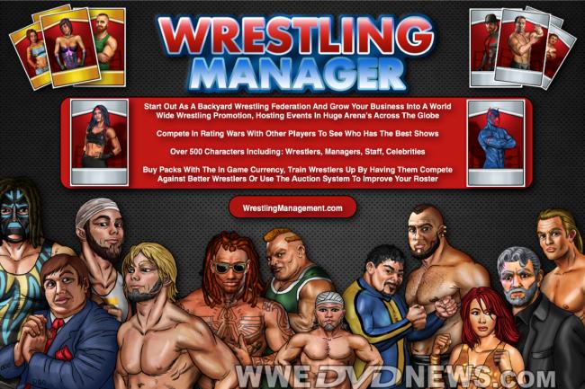 Wrestling Manager Game