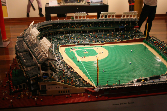 How To Build Wrigley Field With Legos
