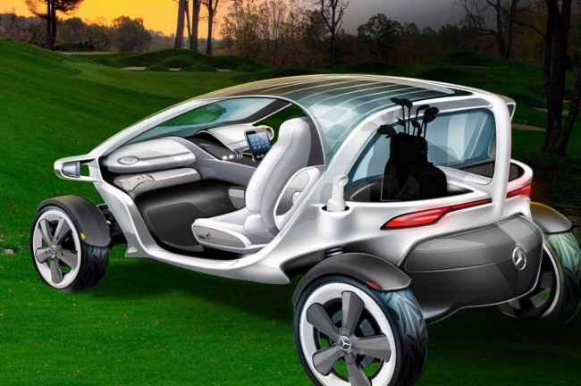 Mercedes' New 'Vision Golf Cart' Turning Heads