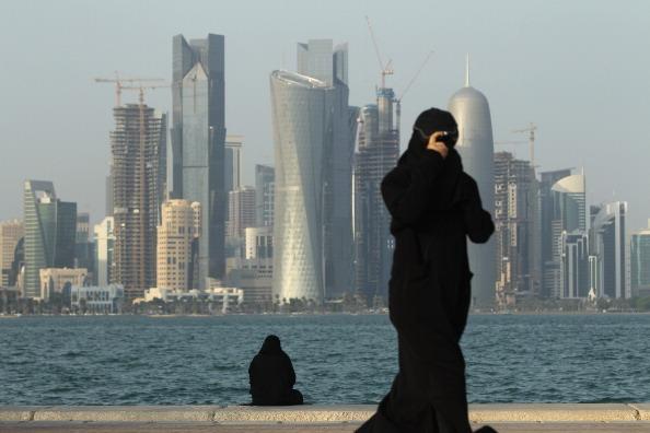 Doha's futuristic skyline