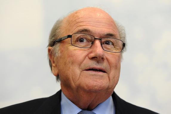 Sepp Blatter won re-election as FIFA president in 2011.