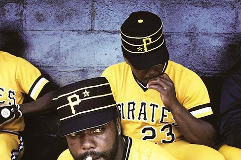 Throwback Thursday: Dave Parker Smokes a Cigarette in the Pirates Dugout