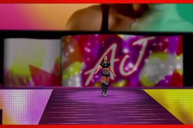 WWE 2K14 Superstar Entrances Finishers Creation Suite
