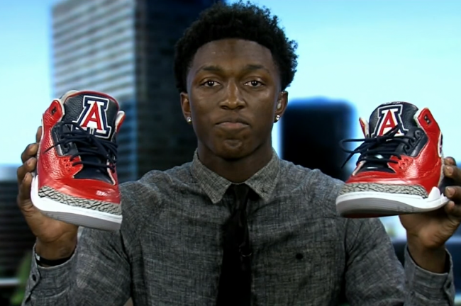 Stanley Johnson Basketball Shoes