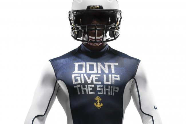 Nike Unveils Custom Pro Combat Uniforms for the 114th Army-Navy Game