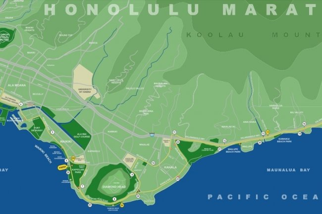 Honolulu Marathon 2013 Route Start Time Date And TV