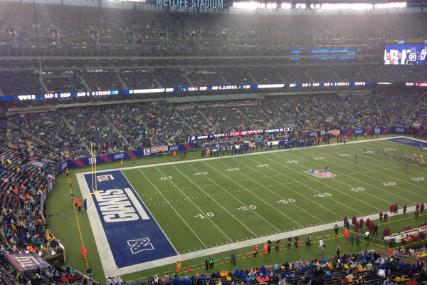 New York Giants' Finale Features Small Crowd at MetLife Stadium