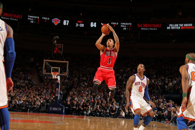derrick rose shooting form - photo #5