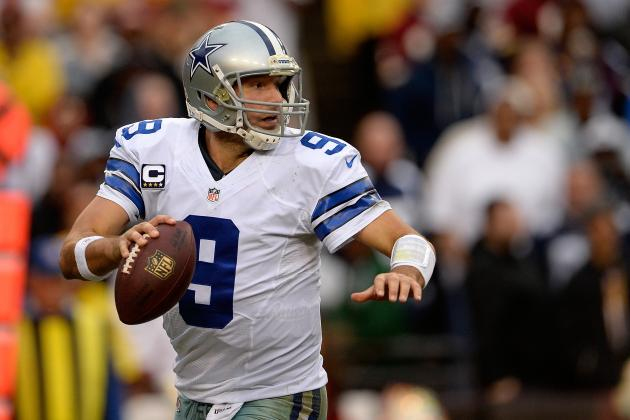 Tony Romo Among Cowboys Reportedly Restructuring Contracts to Clear Cap Space