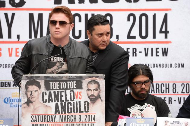 Canelo vs Angulo Odds: Prop Bets for Light Middleweight Bout