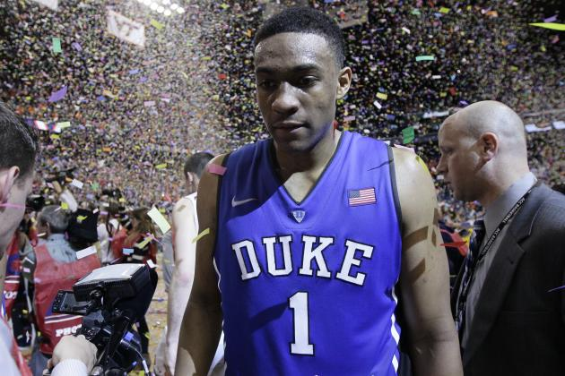 Jabari Parker Would Be Wise to Consider Returning to Duke for Next Season