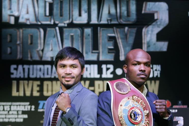 Pacquiao vs. Bradley 2: Fight Time, PPV Info and Fight Card Schedule