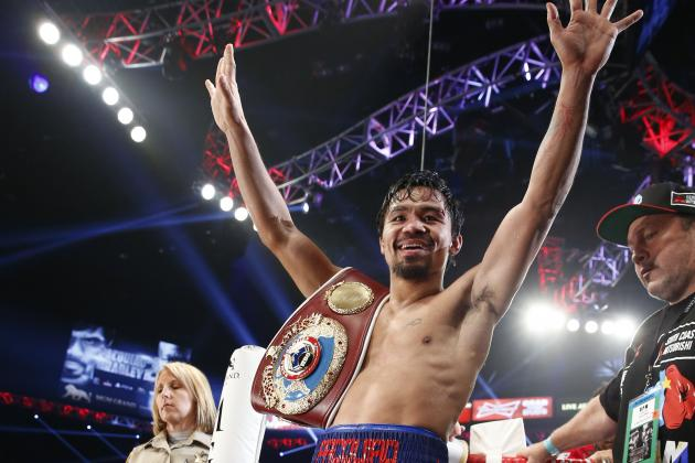 Pacquiao vs. Bradley 2: Pac-Man's Days of Being Feared Opponent Are over